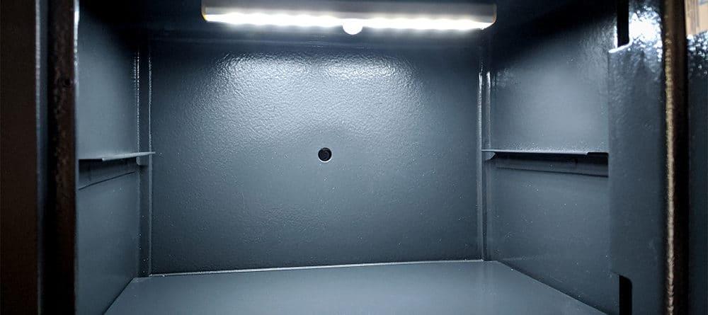 Magnetische Tresorlampe